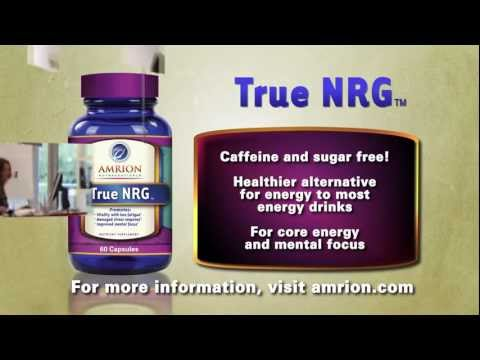 Natural Energy Supplement to Help You Feel Focused, Refreshed and Energized Naturally!