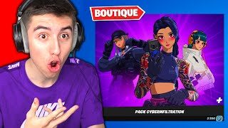 BOUTIQUE FORTNITE du 9 Avril 2021 ! Code : PowerJumper
