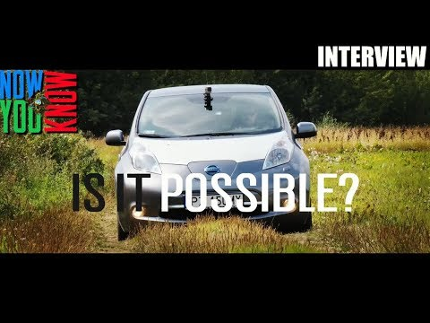 Can the Nissan Leaf be Driven Across Africa? Arkady Fiedler Interview