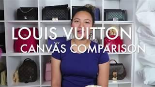 LOUIS VUITTON CANVAS COMPARISON (MONOGRAM/EBENE/AZUR) HONEST REVIEW & OPINION