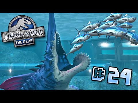 CHAINSAW FACE!! || Jurassic World - Lagoon Series - Ep 24 HD