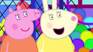 Peppa Pig Full Episodes - Soft Play - Cartoons for Children