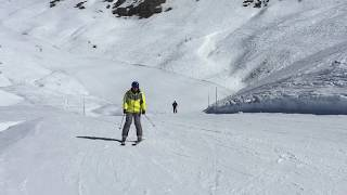 Italy Skiing Sauze d Oulx February 2019 Италия Саузе д Ульс Горнолыжный курорт Февраль 2019