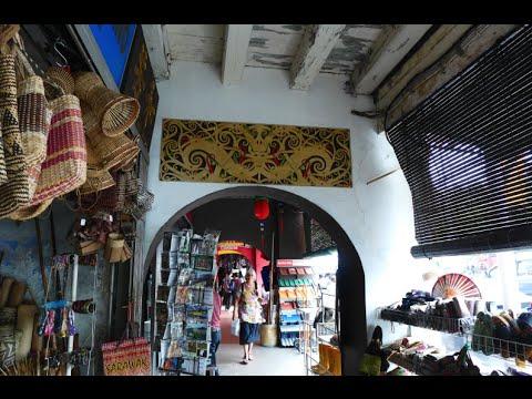 Kuching Main Bazaar and Waterfront Sarawak