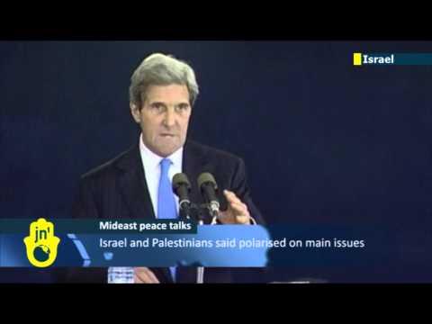 US Secretary of State John Kerry in Israel to push Palestinian peace talks agenda forward