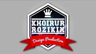 Tutorial Photoshop - Cara membuat Logo Stiker Keren V2