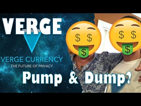 Verge Conspiracy  Pump and Dump?