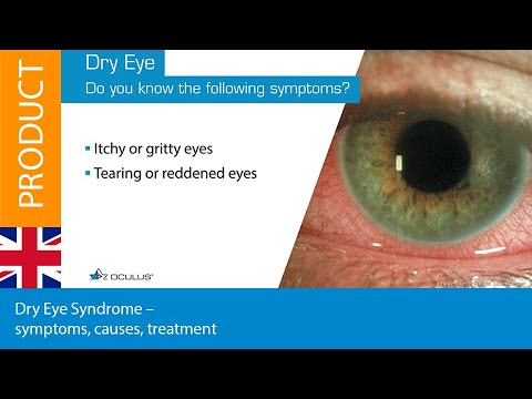 Dry Eye Syndrome – symptoms, causes, treatment