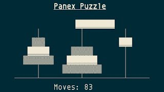Panex Puzzle, Dual Tower of Hanoi
