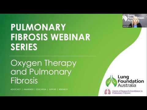 Webinar: Oxygen Therapy and Pulmonary Fibrosis