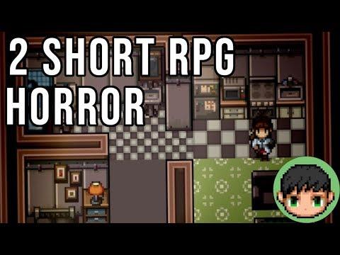 2 Short RPG Maker Horror Games Again!