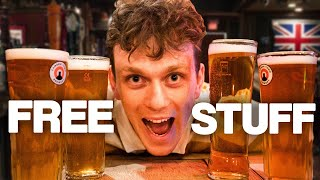 How to get FREE DRINKS in London (We got loads)