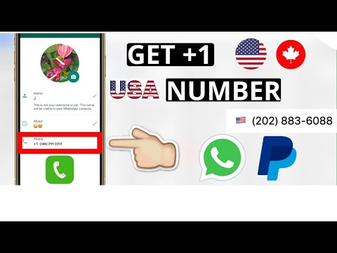 How To Get USA Number For WhatsApp  On Mobile 2020 | Android Tutorials|Cpa Marketing Bangla Tutorial