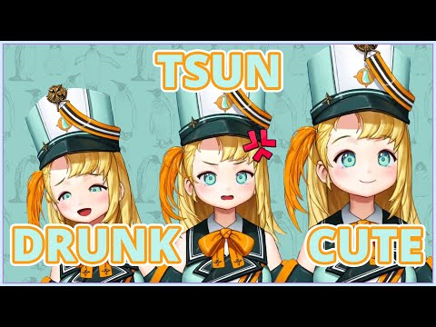 [PRISM] Drunk Pina? Tsun Pina? Cute Pina.