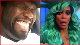 50cent Calls out FAKE & LAUGHS at Wendy Williams FAINTING On Live Tv & Hilarious Twitter Reactions!