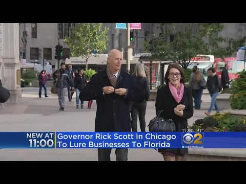 Florida Governor Tries To Poach Jobs From Illinois
