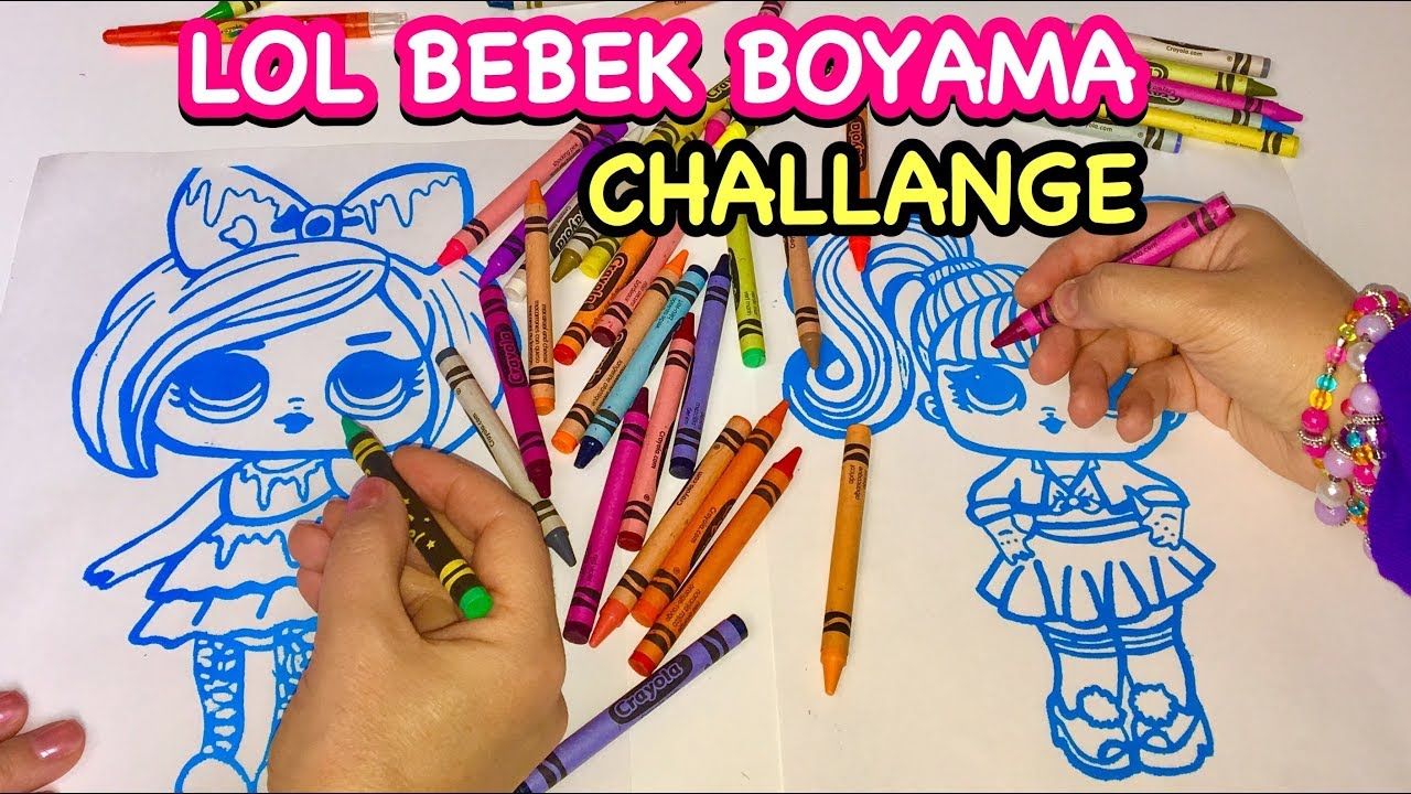 3 Marker Challenge Lol Bebek Boyama Oyunu Pagebdcom