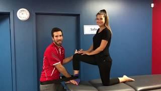 Flexion Dorsale Cheville en Mulligan /Accès Physio