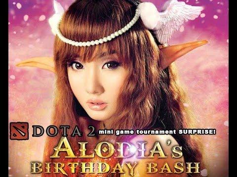 Surprise Birthday Bash Dota2 Tourney For Alodia Gosiengfiao Youtube