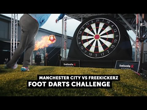 Manchester City vs Freekickerz - Football Darts Challenge - Betsafe True Players