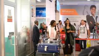 Sharam Diniz back in her home town Luanda-Angola (2016)