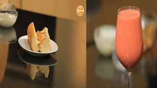 سندوتش حلاوة طحينية - عصير فراولة بالخوخ  | سندوتش وحاجة ساقعة حلقة كاملة