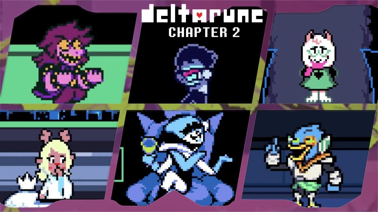Download Deltarune Chapter 2 for PC ⁴ᴷ Full Playthrough (Pacifist) V1