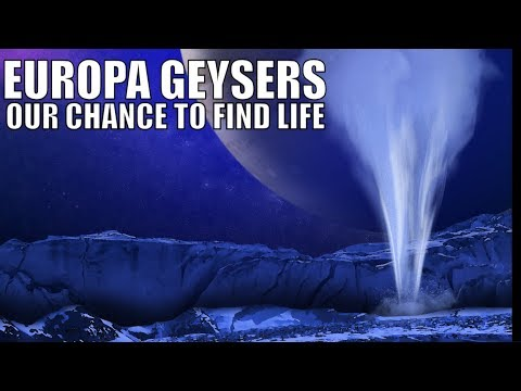 Water Plumes on Jupiter's Moon Europa May Suggest...Life?