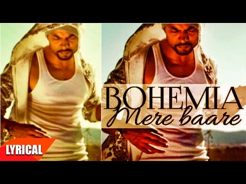 Mere Baare (Lyrical Video) | Bohemia | Punjabi Lyrical Video | Speed Records