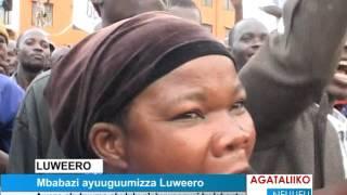 Mbabazi ayuuguumizza Luweero thumbnail