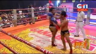 Khmer Boxing 2016 , Porn polla Vs Cheiy sineth ,12  Mar 2016