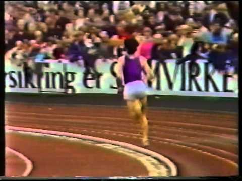 Sebastian Coe-1000m.WR. Oslo,July,1980
