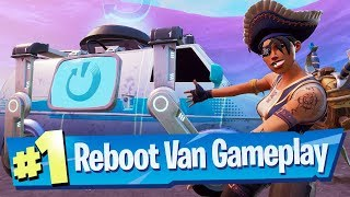Fortnite's Respawn System Arrives! (Reboot Van / Cards Gameplay)