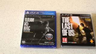 обзор и распаковка The Last of Us (Одни из нас) на Playstation 4
