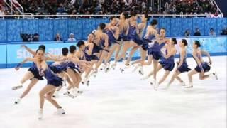 浅田真央らエキシビション練習 ソチオリンピック、フィギュアスケートの...