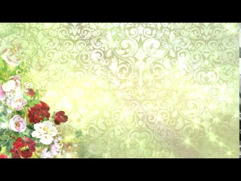Free Loops Abstract flower wedding background thumbnail