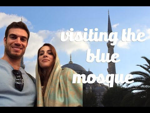 Nathalie Basha and Evan Antin At The Blue Mosque  ||  Travel Turkey
