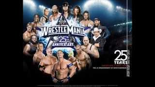 Wrestlemania 25 theme song and poster