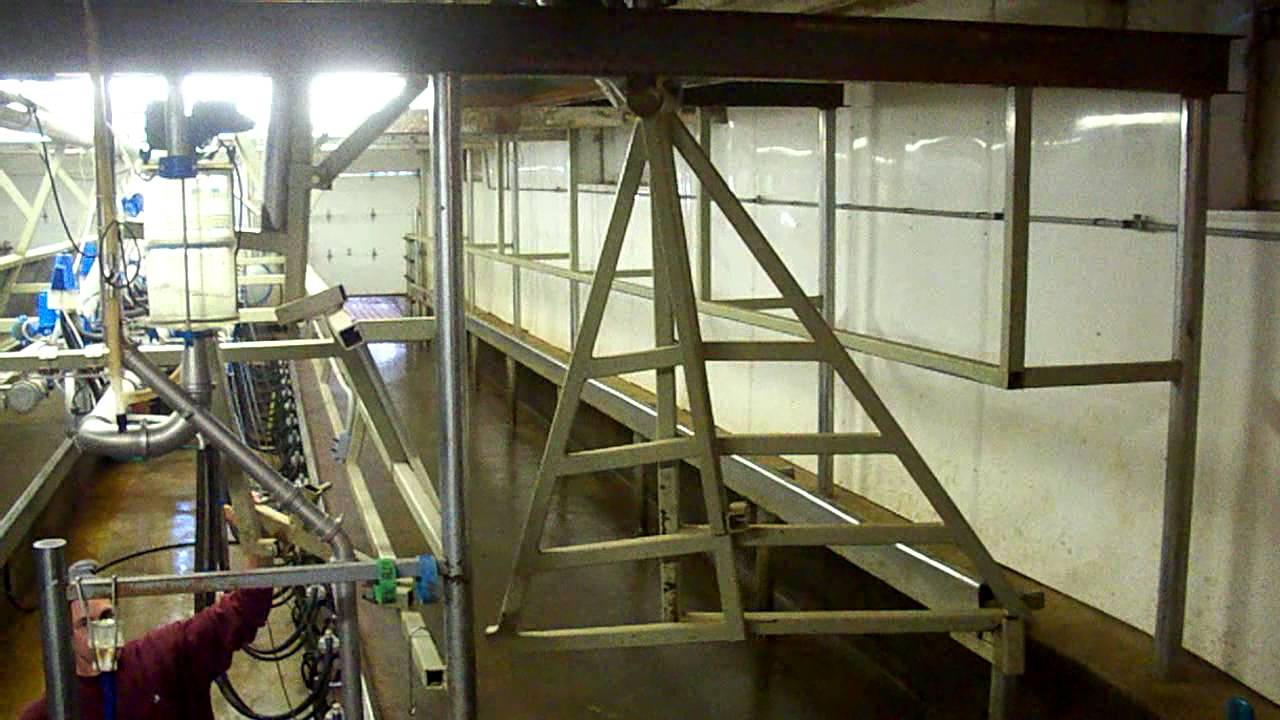 Trans iowa low cost milking parlor part iii youtube for Cost to build a house in iowa