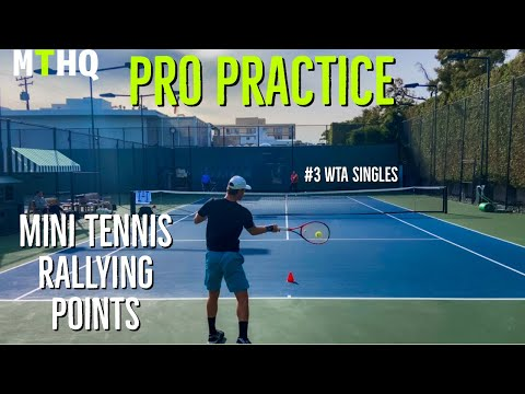 Practicing With Naomi Osaka - How Do Tennis Players Train? | Court Level