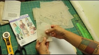 How To Transfer Sewing Patterns To Sturdier Paper For Repeated Use