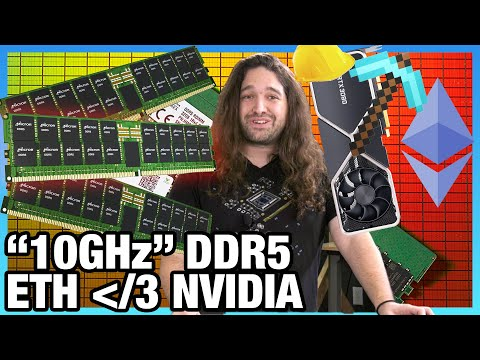 "HW News - AMD ""Zen 3+,"" Silent NVIDIA Changes, ""10GHz"" DDR5, Intel Goes to Mars"