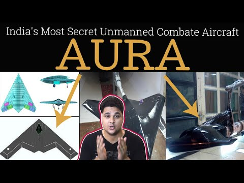 AURA- India's Most Secret Unmanned Combate Aircraft Project|drdo aura in hindi,drdo aura latest news