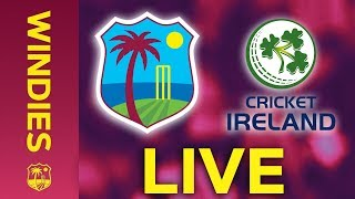 🔴LIVE West Indies vs Ireland | 2nd Colonial Medical Insurance ODI 2020