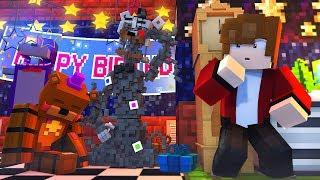 Minecraft FNAF 6 Pizzeria Simulator - MOLTEN FREDDY'S PAST! (Minecraft Roleplay)