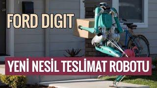 DIGIT : Ford'un yeni nasıl teslimat robotu