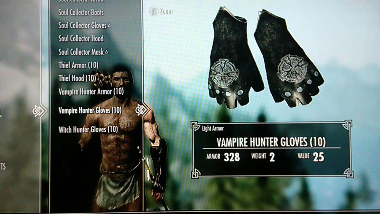 Skyrim Mods Xbox 360 - Breton Knight & Vampire Hunter Armors