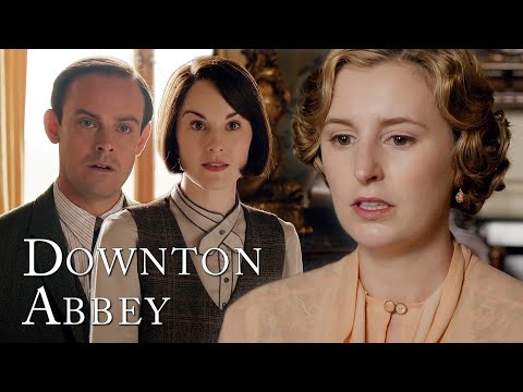 Mary Tells Bertie About Marigold!   Downton Abbey