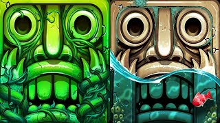 Temple Run 2 Lost Jungle VS Pirate Cove Android iPad iOS Gameplay