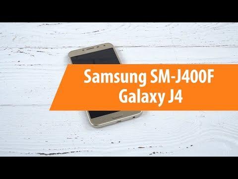 Распаковка смартфона Samsung SM-J400F Galaxy J4 / Unboxing Samsung SM-J400F Galaxy J4